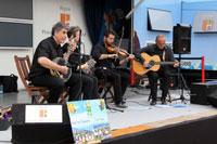 Ceili Day : Michel, Dany, Hubert et Pierre.