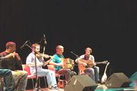 Ceili Day sur scène.